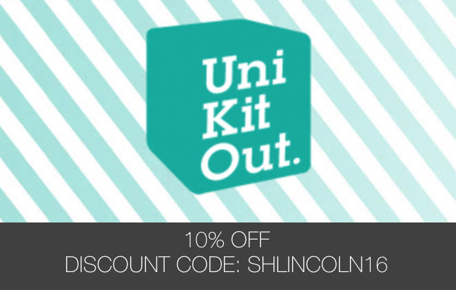 Uni Kit Out: 10% Discount