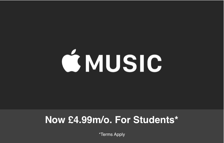Apple Music - Student Subscription