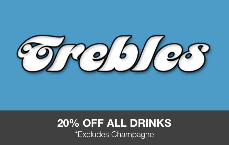 Trebles - Student Offers (Discount Card)