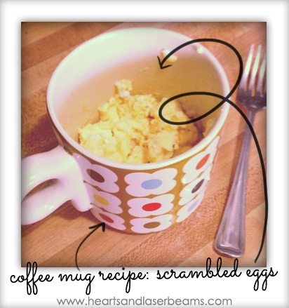 microwave scrambled eggs