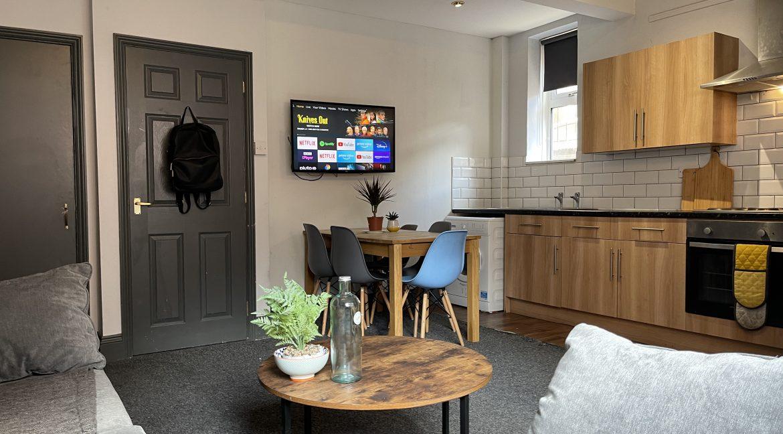 Bank Street Apartments Lincoln - Flat 1 kitchen