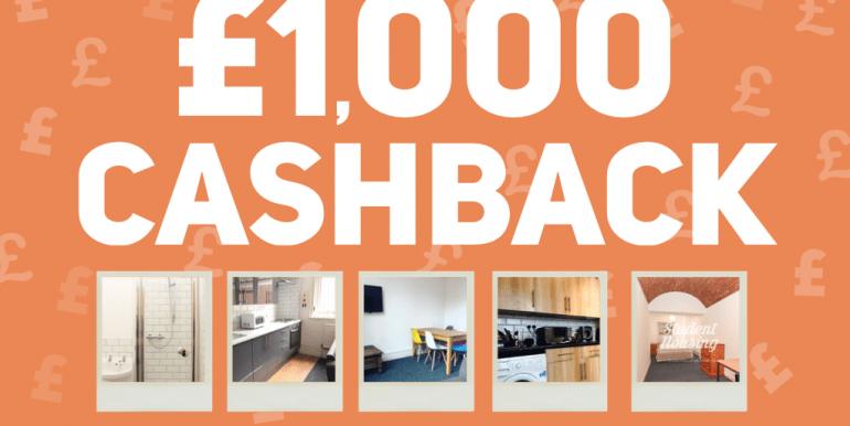 £1000 cashback offer
