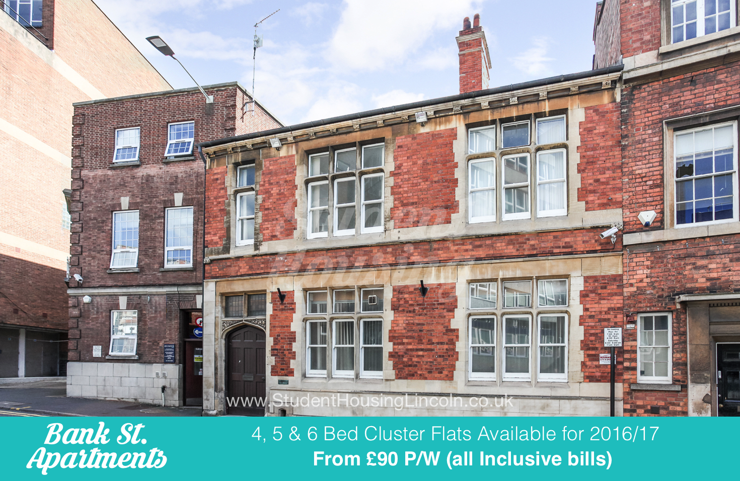 Bank St. Apartments – 5 Bed