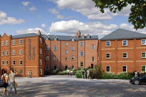 University of Lincoln Halls - Cathedral Court