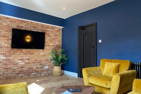 Student Accommodation - Living Room
