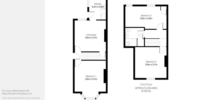 46 Cranwell Street Floor Plan