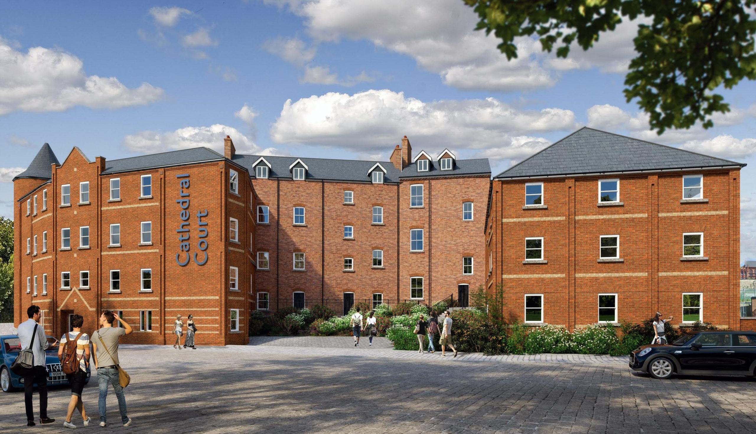 Flat 2, Cathedral Court – 4 Bed