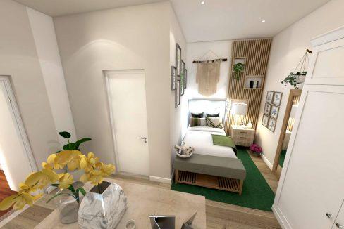 Bank street - flat 5 space bedroom (3)