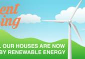 Student Houses renewable energy